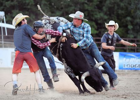 July 21, 2018: Rodeo action from the Third Annual Island Lake Rodeo near Lengby, MN. Photo by Russell Hons TO VIEW ALL PHOTOS VISIT: https://russellhonsphotography.shootproof.com/2018_Island_Lake_Rodeo